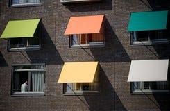 Protecção solar coloridas Foto de Stock