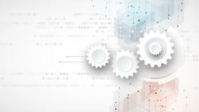 Protección cibernética de la seguridad y de la información o de la red Futuro técnico almacen de video