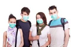 Protección contra epidemia Fotografía de archivo libre de regalías