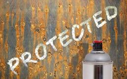 Protección contra la corrosión imagenes de archivo