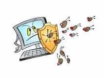Protección de Digitaces Imagen de archivo