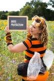 Protección de la abeja Fotos de archivo