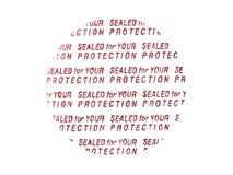 Protección de la cápsula Imagen de archivo