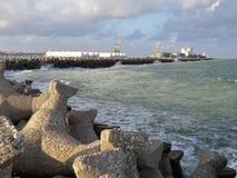 Protección de la playa Imagen de archivo