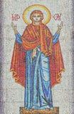 Protección de la Virgen Fotografía de archivo