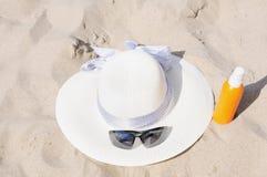 Protección de Sun Foto de archivo libre de regalías