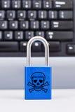 Protección del ataque del Cyber fotos de archivo libres de regalías