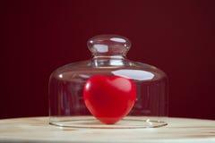 Protección del corazón Fotos de archivo libres de regalías