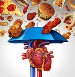 Protección del corazón Imagen de archivo libre de regalías