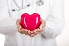 Protección del corazón Imagenes de archivo