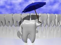 Protección del diente Fotografía de archivo
