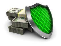 Protección del dinero Imagen de archivo