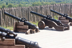 Protección del fuerte Foto de archivo libre de regalías