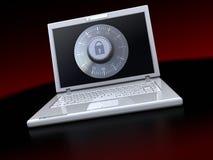 Protección del ordenador Imagen de archivo libre de regalías