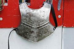 Protección medieval del cuerpo de los caballeros Fotos de archivo libres de regalías