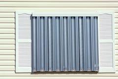 Protección Panels4 del huracán Foto de archivo