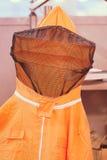 Protección para los apicultores Imagen de archivo