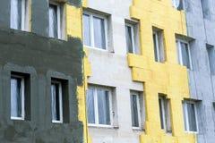 Protección termal del edificio Fotos de archivo libres de regalías