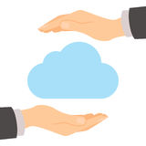 Protección de almacenamiento de la nube Fotos de archivo