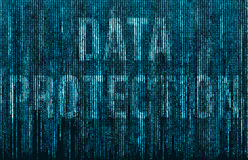Protección de datos Foto de archivo libre de regalías
