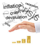 Protecção de seu investimento Imagem de Stock