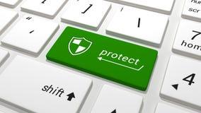 protect stock abbildung