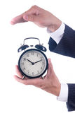 Protect alarm clock Stock Images