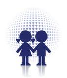 Protect children vector illustration