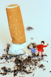 Protect Children, Don T Smoke Royalty Free Stock Photos