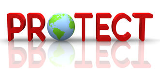 Protect Earth Stock Photography