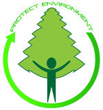 Protect environment stock photography