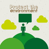 Protect the environment Royalty Free Stock Images
