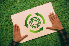 Protect the environment. Royalty Free Stock Images