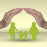 Protect family Stock Photos