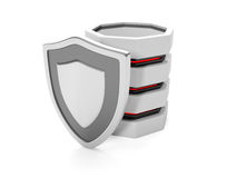 Protect files on your hard disk Stock Photo