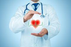 Protect health and healthcare stock image