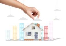 Protect house Stock Photos