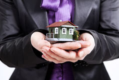 Protect House Stock Photography