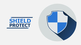 Protect icon concept illustration. Stock Photo