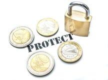Protect money Royalty Free Stock Photos