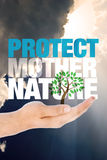 Protect mother nature Royalty Free Stock Images