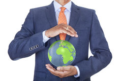 Protect planet Earth Royalty Free Stock Photography