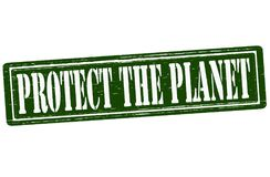Protect the planet Royalty Free Stock Images