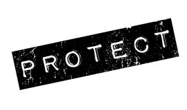 Protect rubber stamp Stock Photography