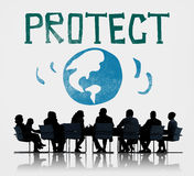 Protect Save Earth Nature Planet Concept Stock Image