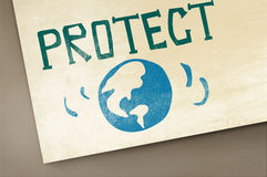 Protect Save Earth Nature Planet Concept Royalty Free Stock Images