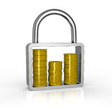 Protect savings concept Royalty Free Stock Photo