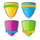 Protect Shield Vector Illustration Stock Image