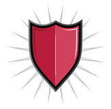 Protect shield Royalty Free Stock Photos