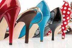 Protect shoes with high heels Stock Photography
